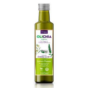 Azeite-Extra-Virgem-Organico-Olichia-Lemon-Pepper-Produza-Foods-260-ml---Viva-Regenera