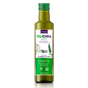 Azeite-Extra-Virgem-Organico-Olichia-Manjericao-Produza-Foods-260-ml---Viva-Regenera