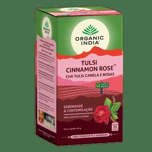 Cha-Tulsi-Canela-e-Rosas-Organic-India-25-Saches---Viva-Regenera