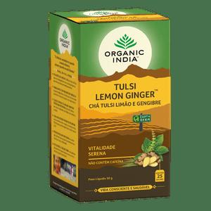 Cha-Tulsi-Limao-e-Gengibre-Organic-India-25-Saches---Viva-Regenera
